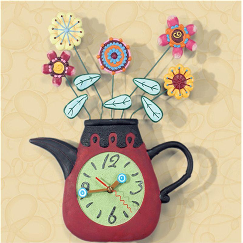 Art Wall Clock Modern Design Home Decor Klokken De Parede Teacher ...