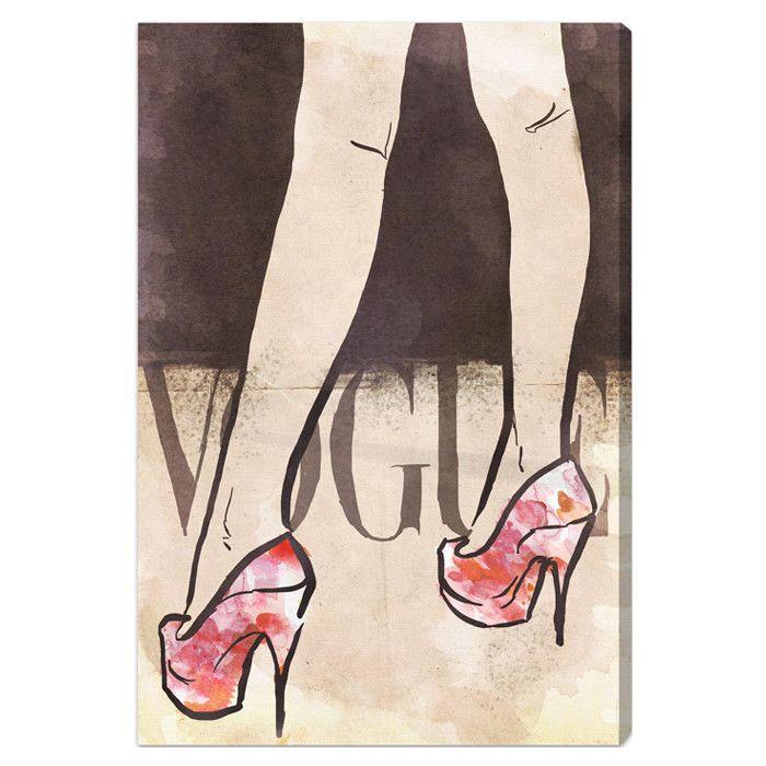 vogue heels print