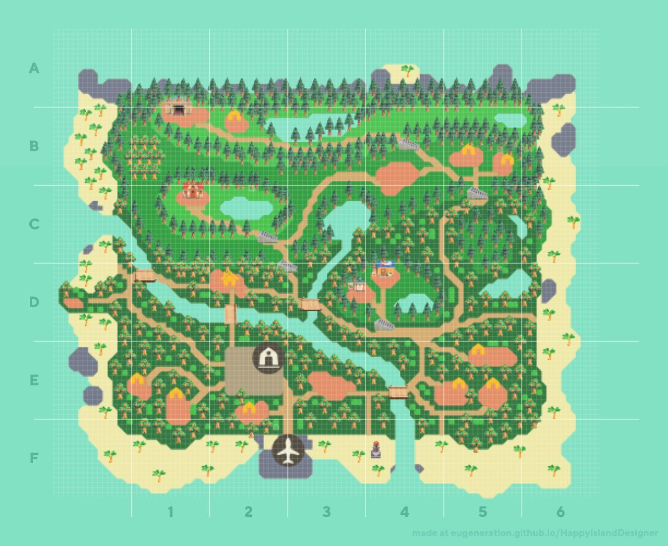 16+ Animal crossing new horizons map options ideas