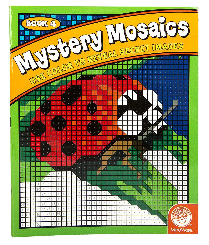 Amazon Mystery Mosaics Book 4 Toys Amp Games