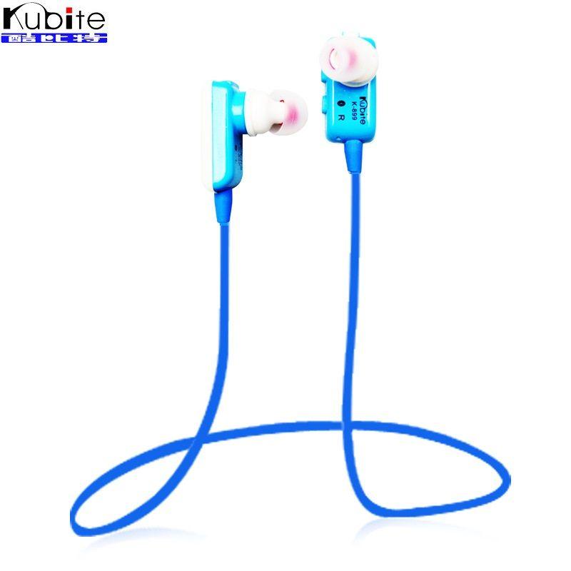 Kubite Sports Headset Wireless Auriculares Stereo Bluetooth 4.0 Earphones Studio Music  Headphone Sweatproof for Mobile Phones