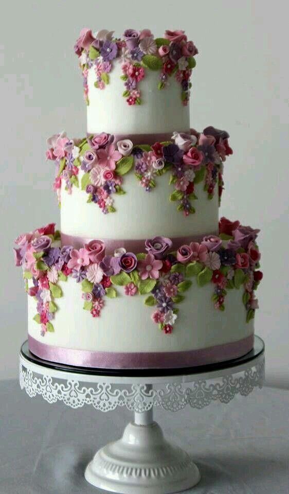 Blumen   Cakes, cupcakes...   Pinterest   Cake, Wedding cake and ...