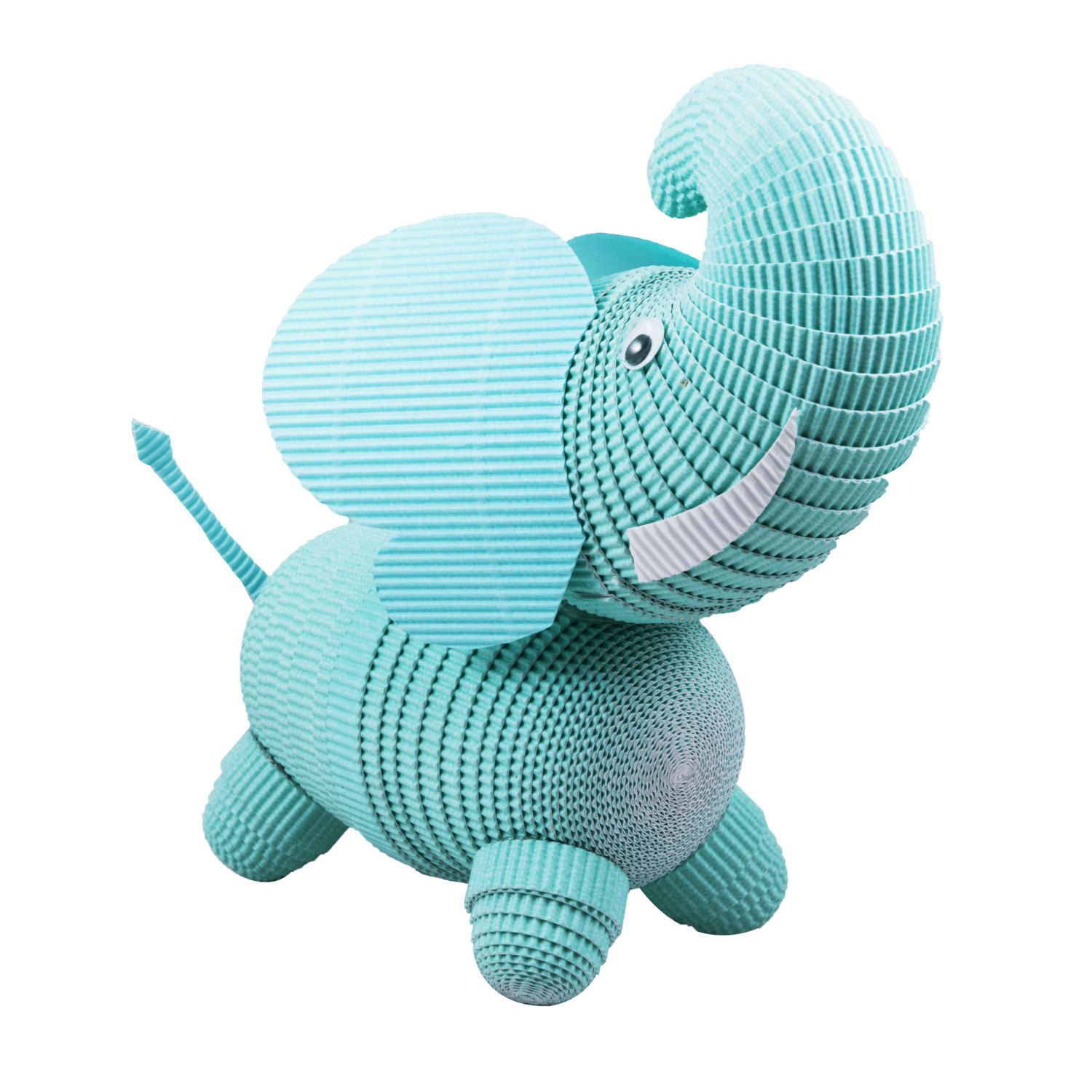 Elephant Nursery and Kids Room decor.  Handmade from Paper Quilling Paper by PaperCraftCreatures on Etsy