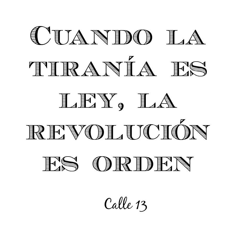 Adentro Calle 13 Frases RapFrases