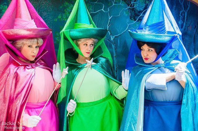 Flora, Fauna,  Merryweather Costume Ideas Pinterest Mom - different halloween costume ideas