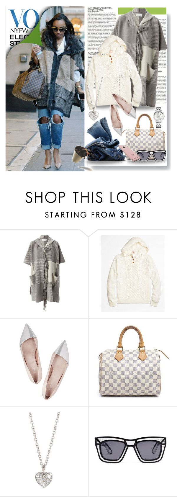 """""""street style"""" by straylittle ❤ liked on Polyvore featuring McGinn, Chloé, Brooks Brothers, Giambattista Valli, Louis Vuitton, H&M, Finn, Ksubi, Tommy Hilfiger and women's clothing"""