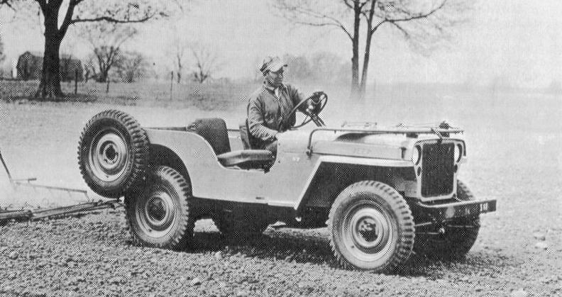 Willys Jeep 1945 Cj 2 Agrijeep Prototype Cj2 37 Is X61 Willys Jeep Willys Classic Jeeps