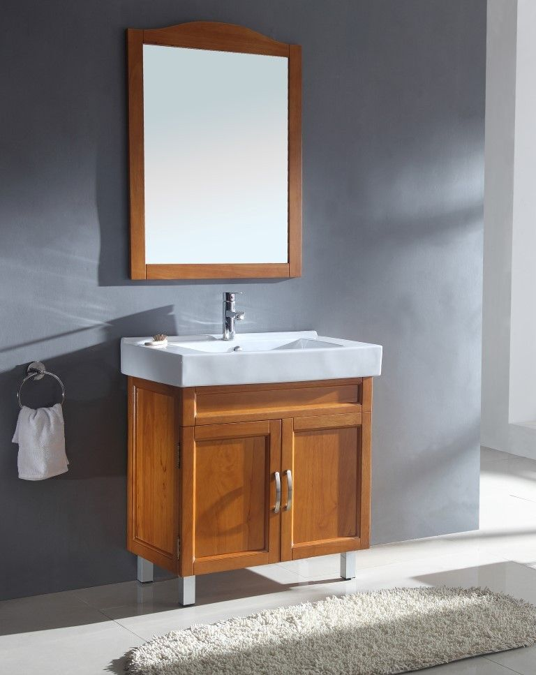 Sink Chest Solid Wood No Faucet