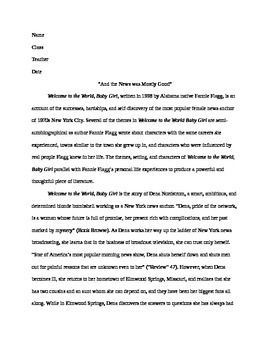 11th Grade English 12th Grade English College English Research Paper Example Mla Research Paper 12th Grade English Mla