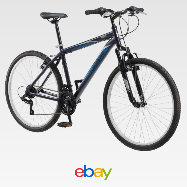26 Mongoose Camrock Men S Mountain Bike Blue With Images 26