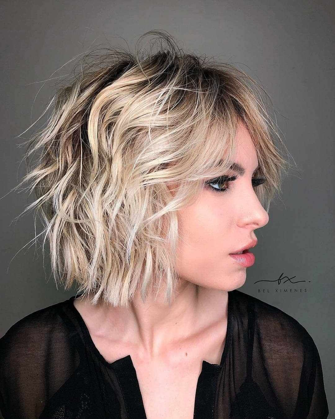 39 Latest Short Bob And Pixie Haircuts For Women In Summer 2019 Page 4 Of 4 In 2020 Wavy Bob Hairstyles Bob Hairstyles Asymmetrical Bob Haircuts