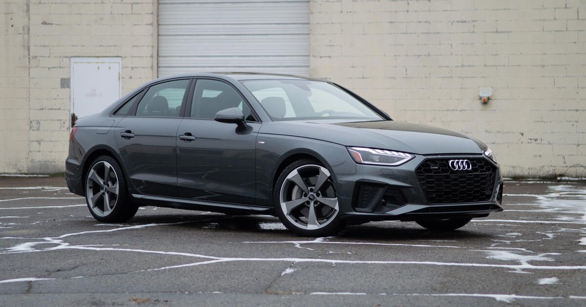 2021 Audi A4 Review No Nonsense Entry Level Luxury In 2021 Audi Audi A4 Entry Level