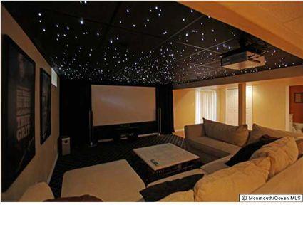 Luxury Basement Movie Rooms
