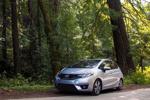 From City Buildings To The Rural Forests The Honda Fit Is As Versatile As It Is Stylish Whether You Choose To Take It O Honda Fit Honda Union City California