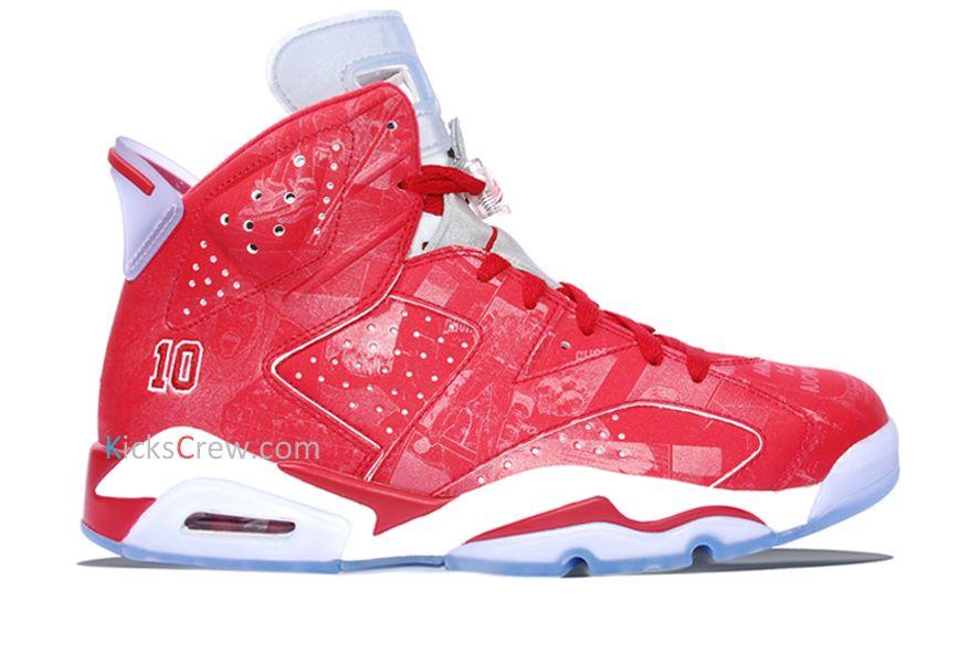2b7422db8fd609 New Arrival Nike Air Jordan 6 Retro Slam Dunk (717302-600) https