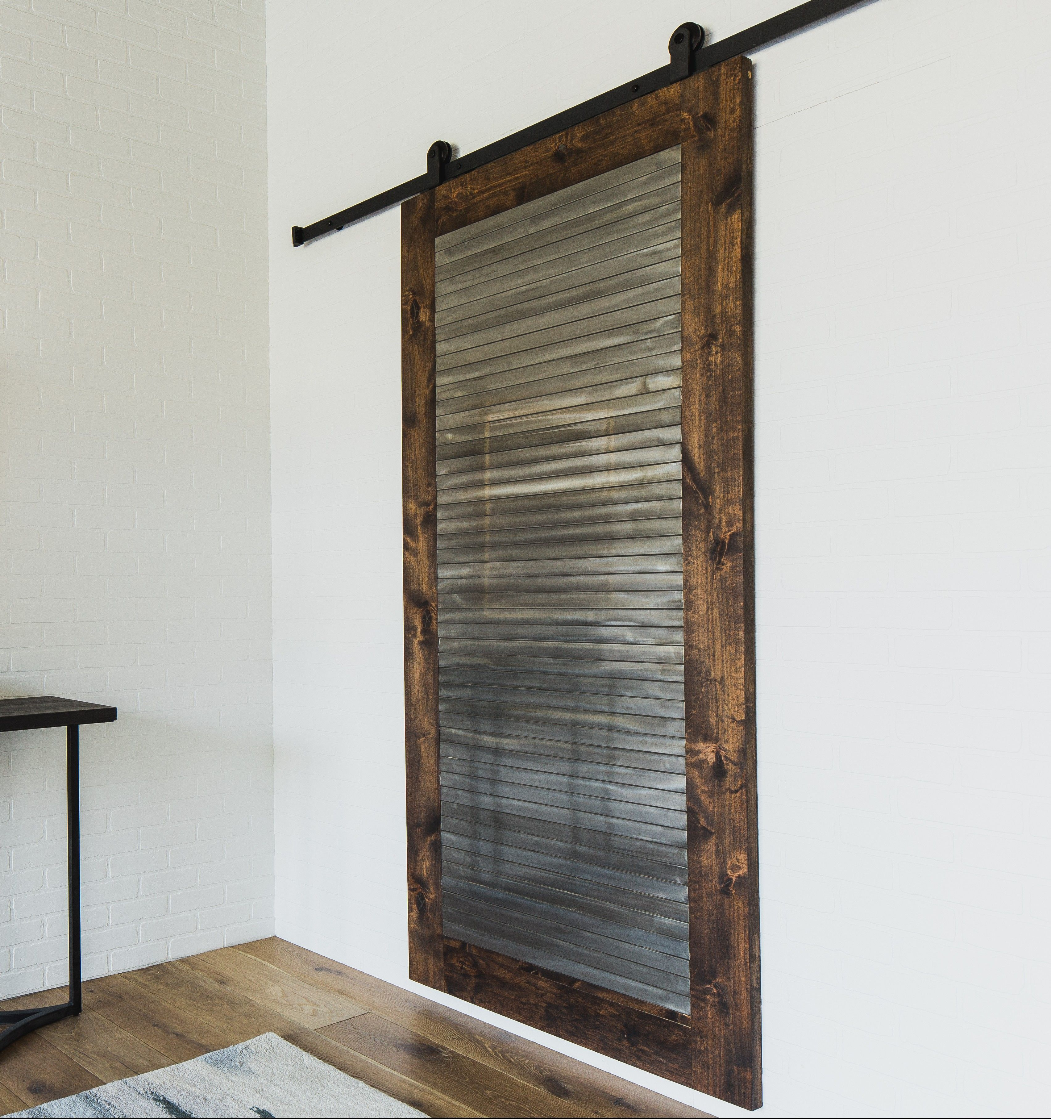 Wonderful The Industrial Barn Door Embodies A Modern Industrial Look Adding  Style And Substance To A Part 55