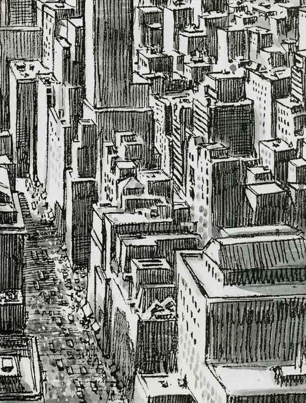 Resultado de imagem para Will Eisner (New York, a grande cidade)