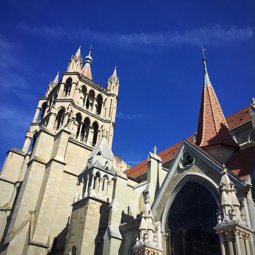 Lausanne Cathedral #suisse #discoverswitzerland #lausanne #cathedral