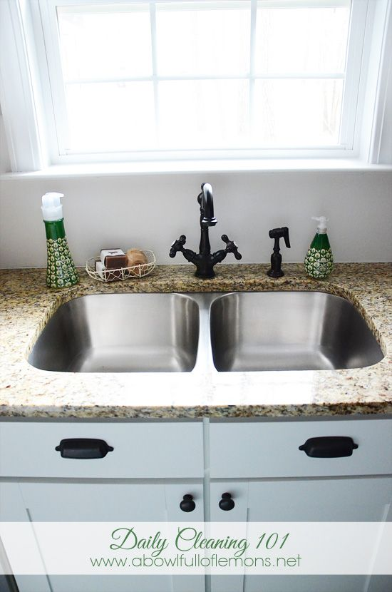 How to KEEP your house clean with 7 easy daily steps. A Bowl Full of ...