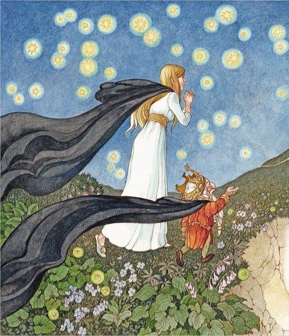 çizgili masallar: Bee: The Princess Of The Dwarfs by Olga Ionaytis