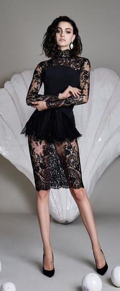 85eb76c8ceb75 Cristina Savulescu Kısa Elbiseler, Sexy Dresses, Siyah Elbise, Iş Elbisesi, Moda  Trendleri