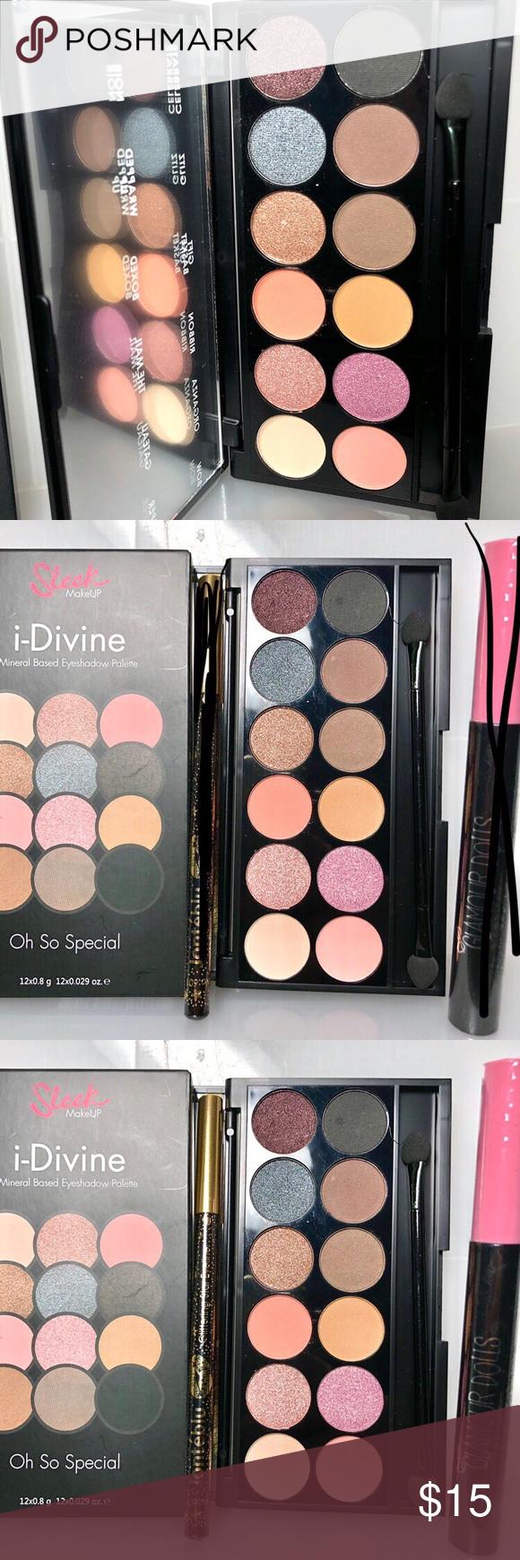 Sleek MakeUP iDivine Mine Eyeshadow Palette Sleek MakeUP I-Divine Mineral Based Eyeshadow Palette O