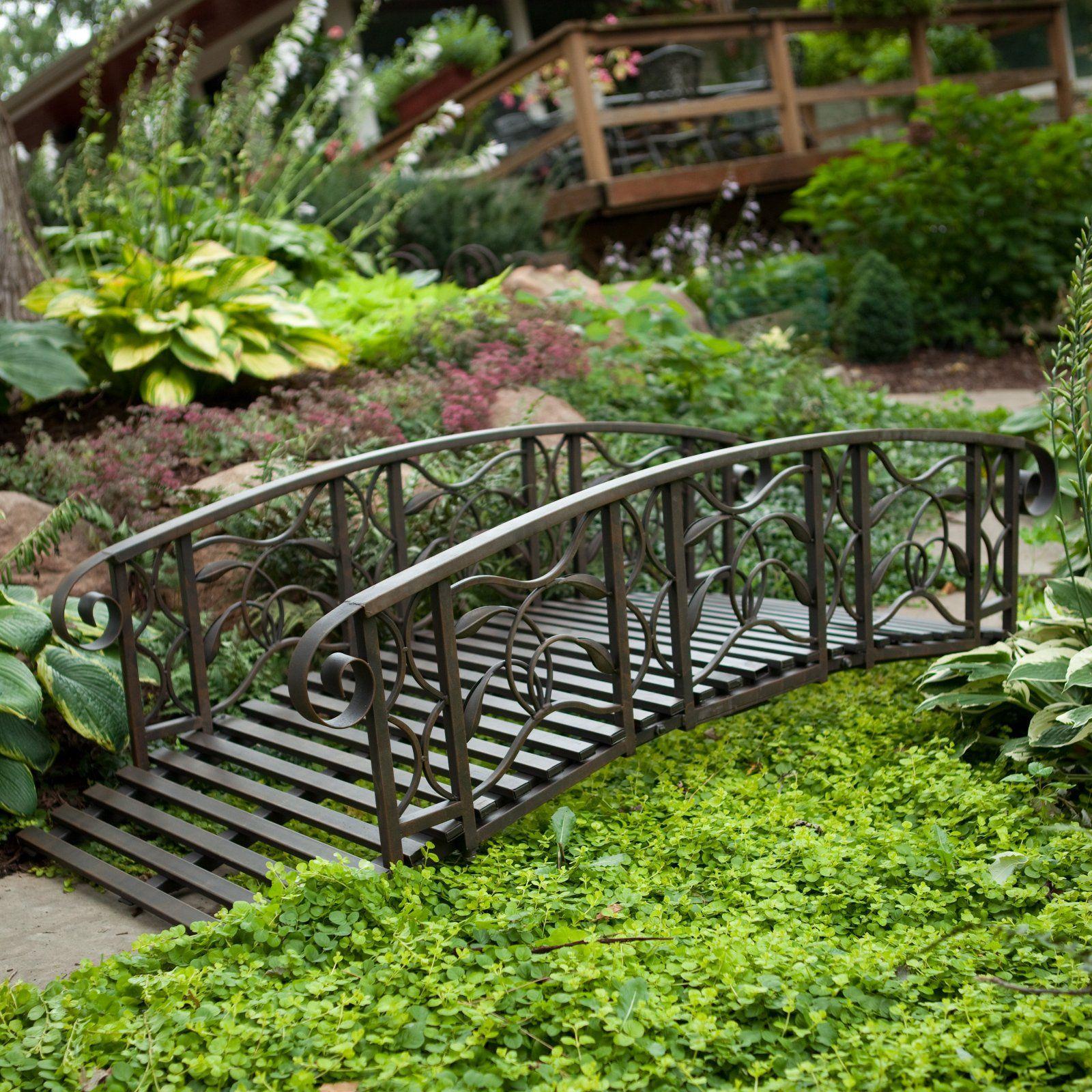 Willow Creek 6-ft. Metal Garden Bridge Item#: CWR031 Sale Price ...