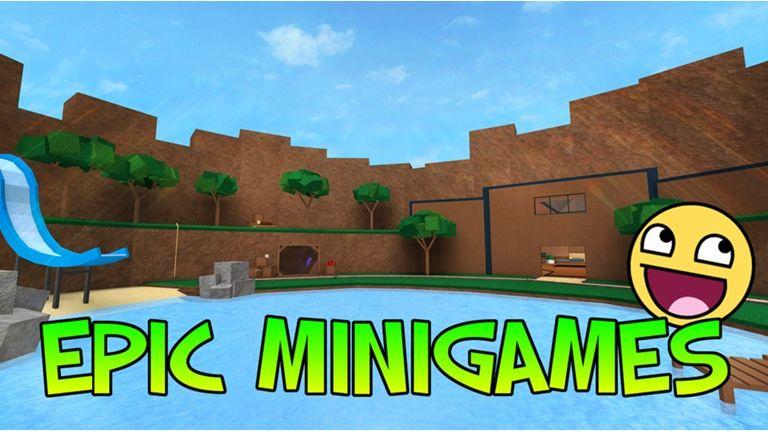 Epic Minigames Roblox Roblox Games Roblox Game Codes