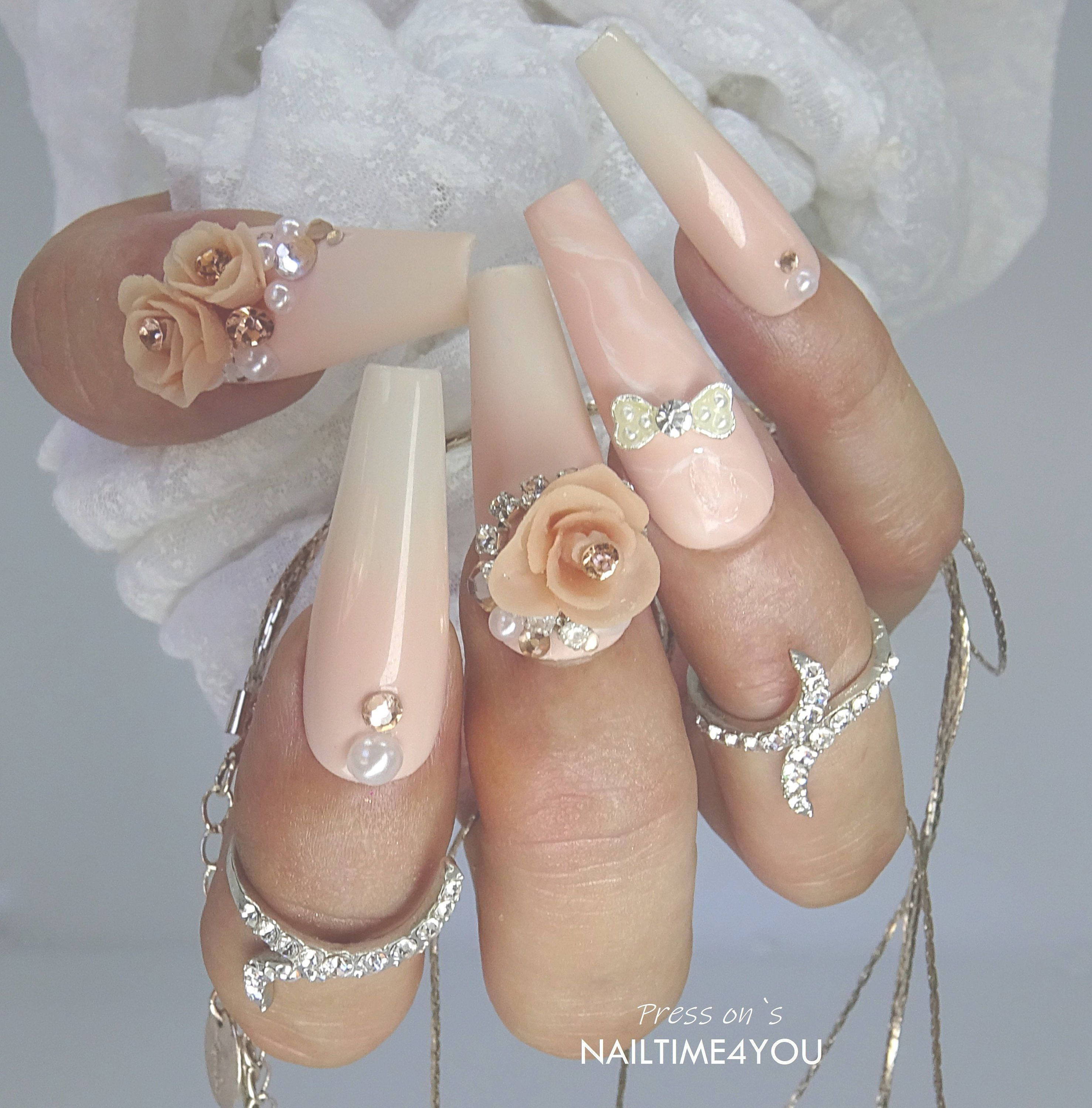 Pin Auf Nude Colour Press On Nails