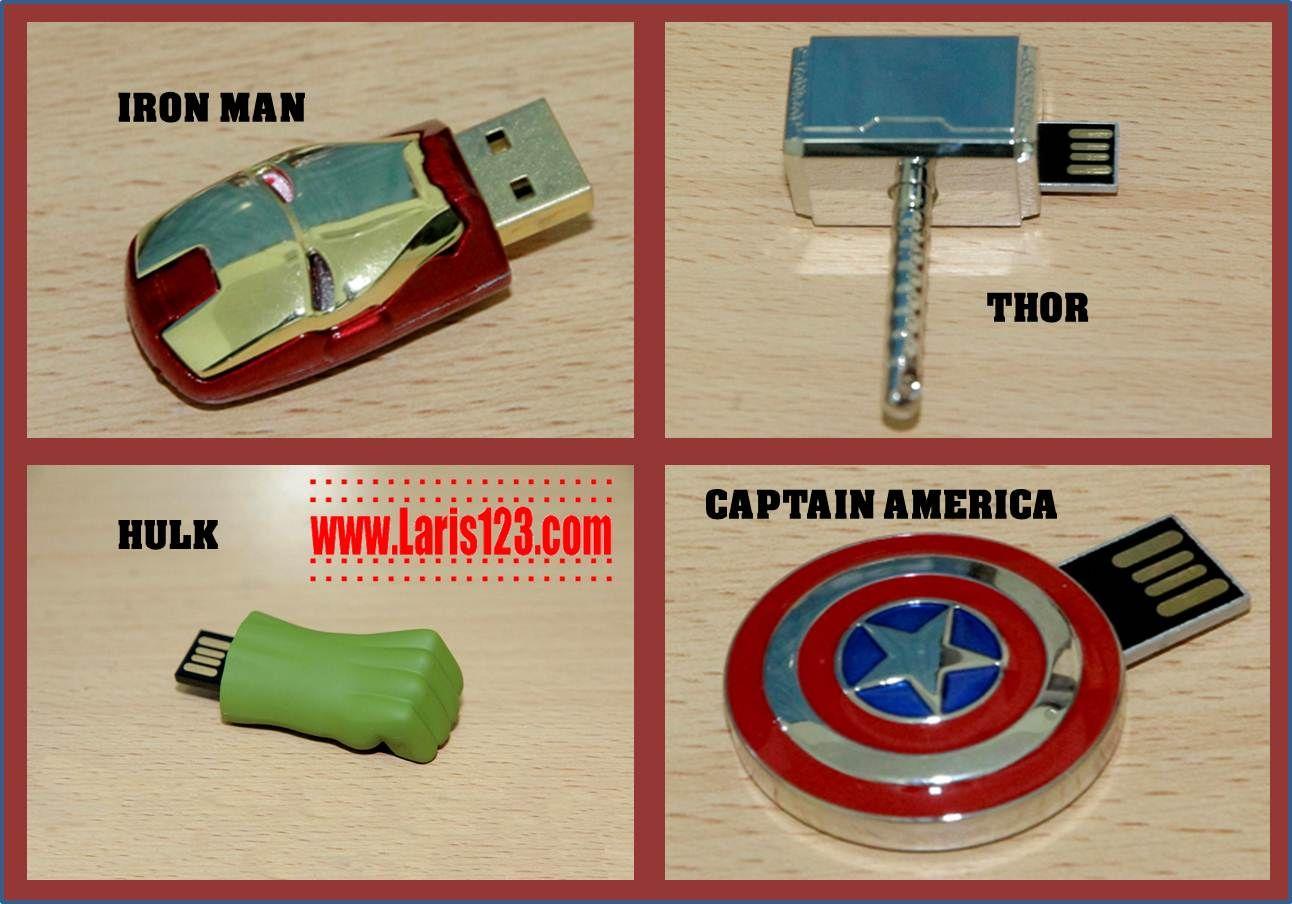 Jual Flashdisk Unik Superhero Avengers Marvel 16 Gb Produk