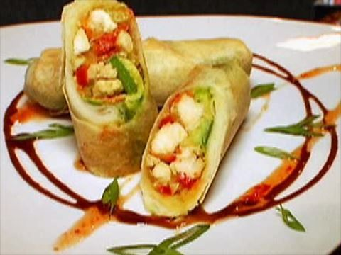 Chicken avocado egg roll video food network avocado egg rolls almost famous bloomin onion recipe food network kitchen food network forumfinder Choice Image