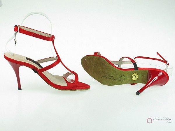 a1e747b3f Natural Spin Designer Salsa Shoes/Tango Shoes/Fashion Shoes(Small Open  Toe): D1