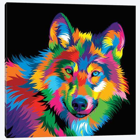Wolf - Canvas Print