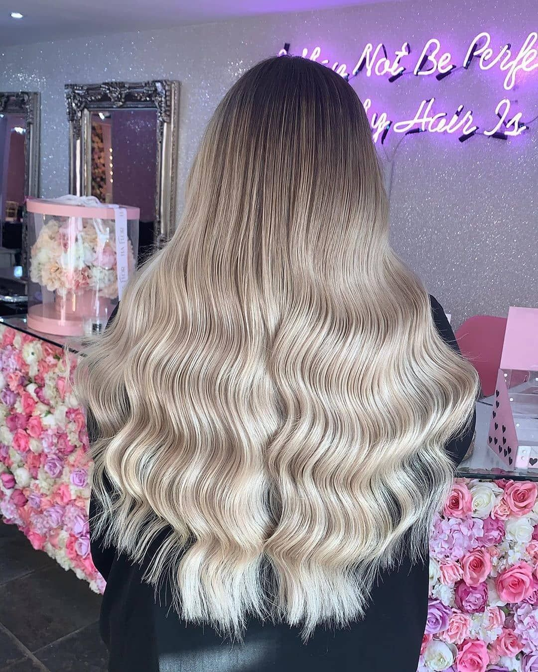 Beauty Works Hair Extensions On Instagram Hair 𝓖𝓞𝓐𝓛𝓢 22 Gold Double Weft In Shade Barley Blonde Fit By Annajoneshair Contact The Salon Dire