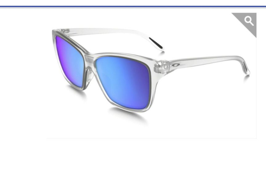 3f2305422b OAKLEY Hold On HD OO9298-09 Matte Clear Sapphire Iridium Sunglasses NIB   Oakley  Designer