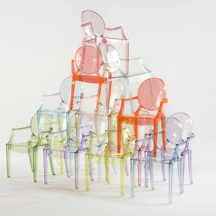 Fauteuil Louis Ghost - Kartell | Baroque, Chic And Ghosts