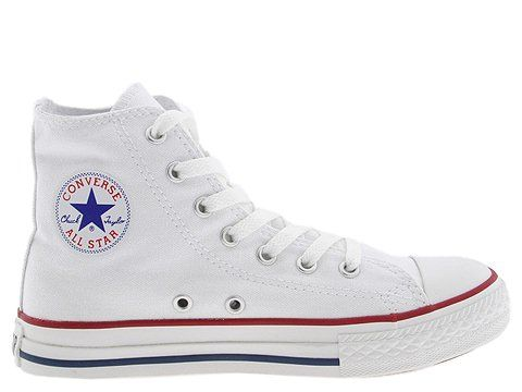 childrens white converse high tops
