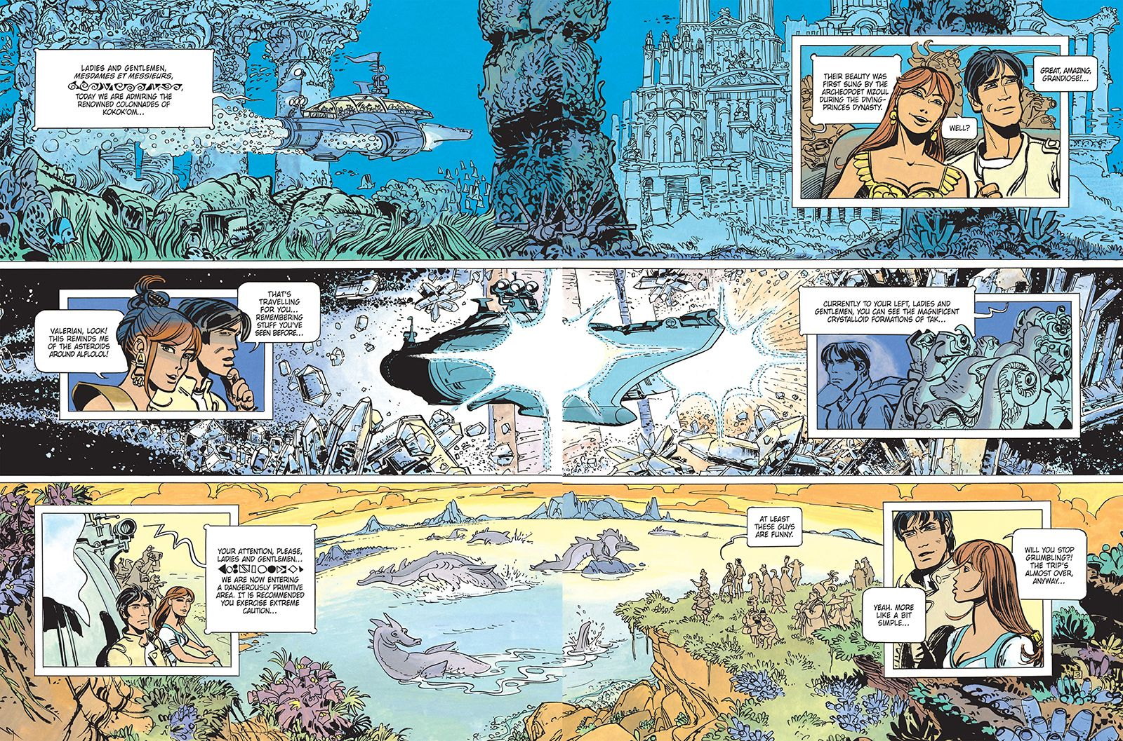 Valérian The Rich Graphic Novels Behind the Film