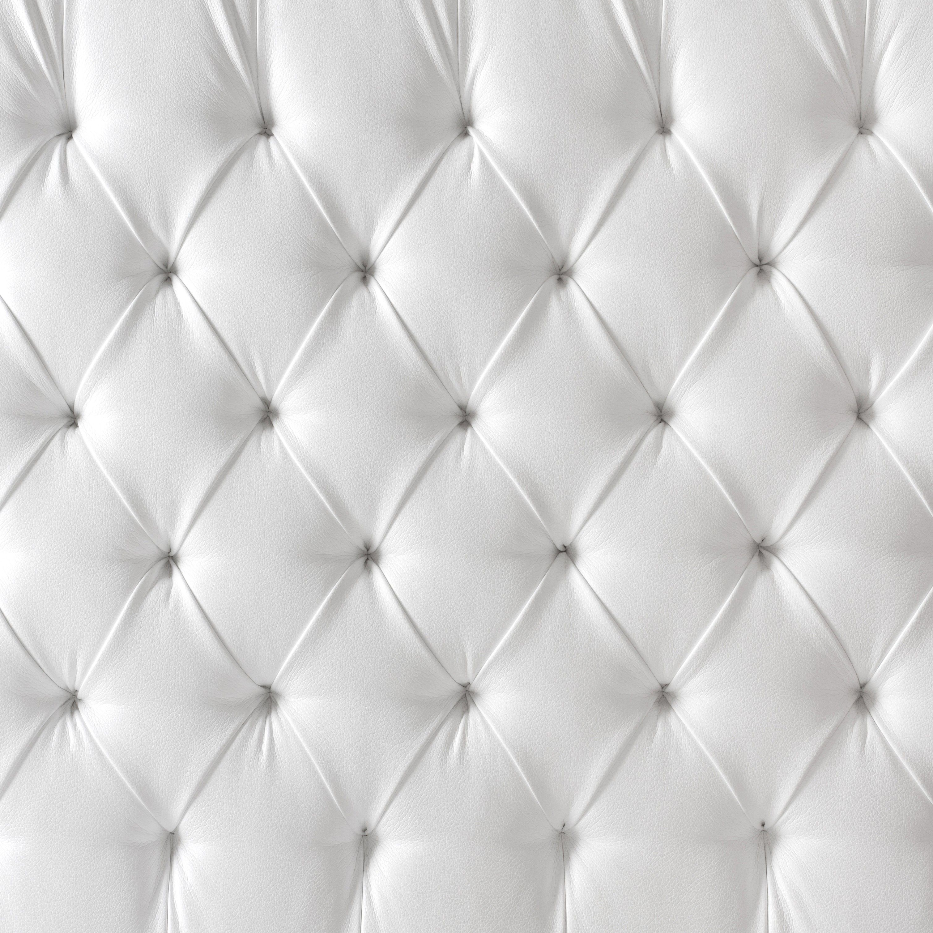 White Tufted Sofa Bed 3 Seater And 2 Armchairs Leather Texture 材质 Pinterest