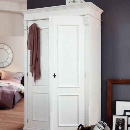 Kleiderschrank aus weißem Mangoholz   Schlafzimmer in 2019 ...