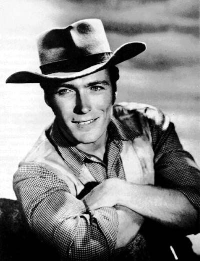 "Clint Eastwood as Rowdy Yates ~ ""Rawhide"""