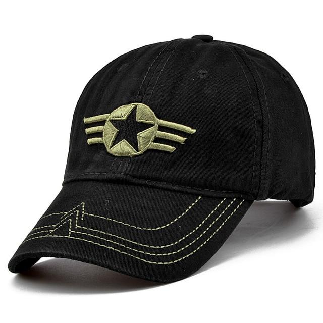 fbad89f25 2018 High Quality Army Cap Camo Baseball Cap Men Camouflage Snapback  Tactical Cap Mens Baseball Caps Gorra Snapbacks golf hats