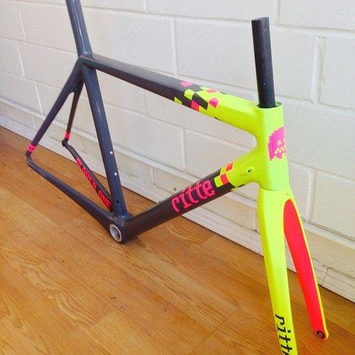 Rittevanvlaanderen Oneoftheseplease Bicycle Painting Bicycle