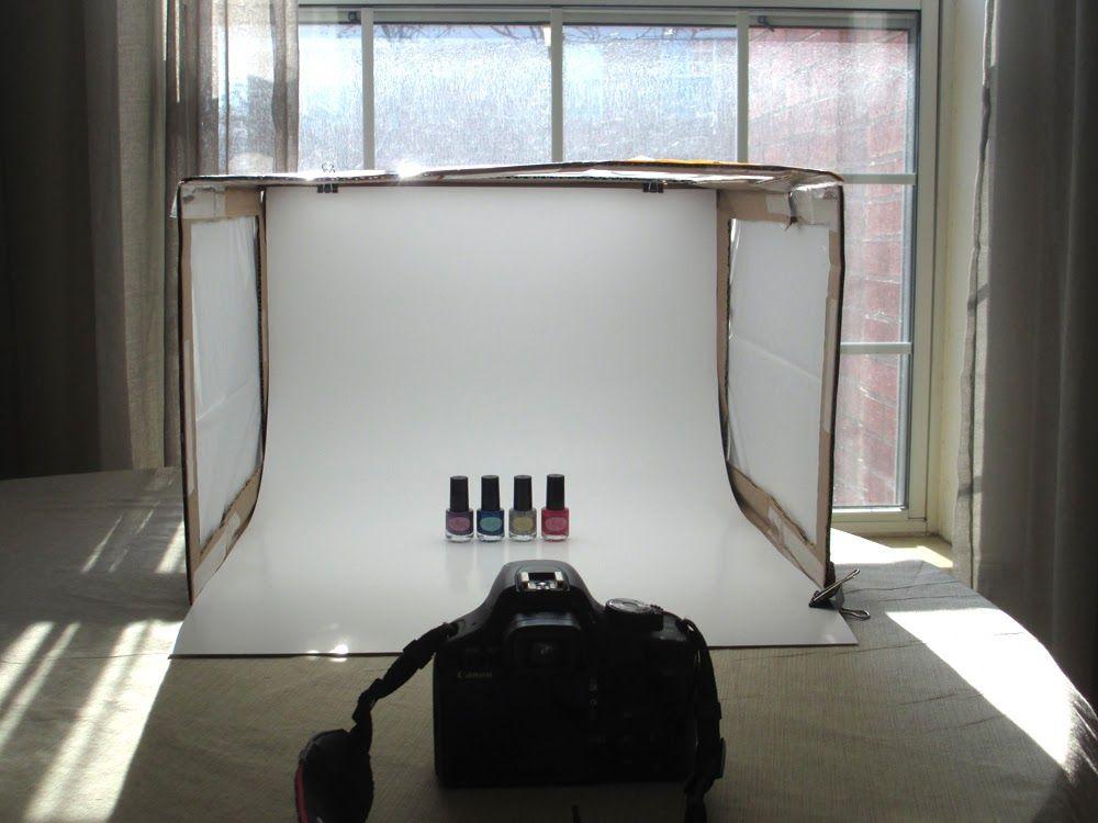 Foldable Diy Photography Light Tent Blogs Business Pinterest