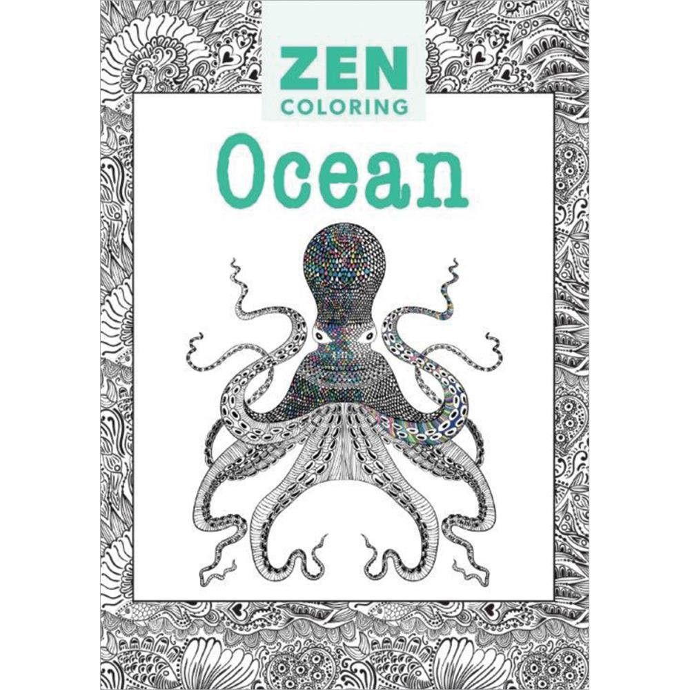 Zen Coloring Guild Of Master Craftsman Book
