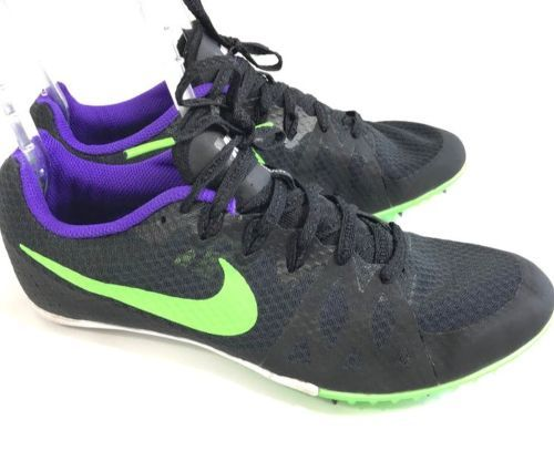 2df41f15 Nike-Mens-Zoom-Rival-Track-Field-Shoes-Black-Spikes-Sz -7-5-Cross-Country-806555