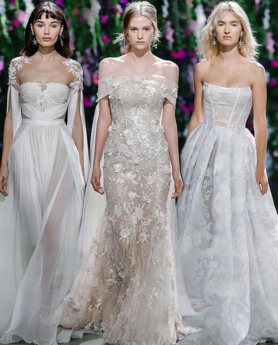 Wedding dresses for thin figures Which bare neck dress are you GALA left sweet yet sassy