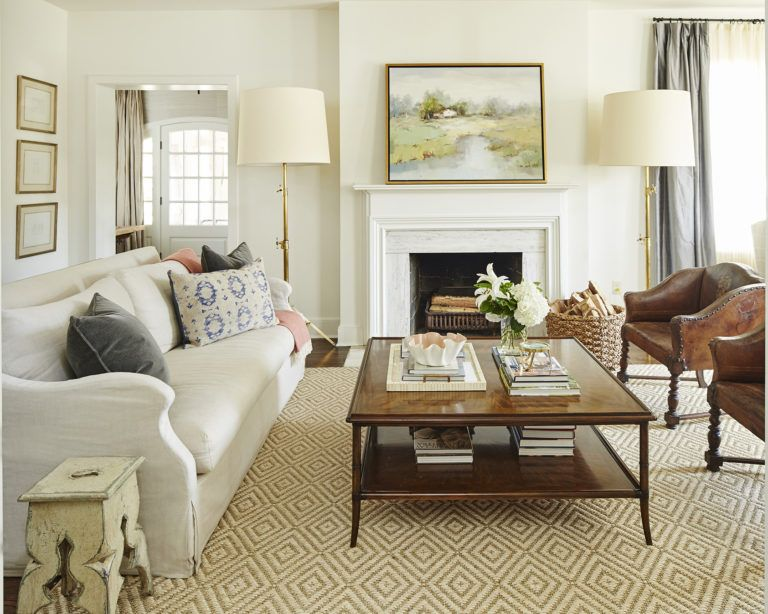 Southern Charm All Eyes Are On Interior Designer Ashley Gilbreath S Elegant But Approachable Style White Walls