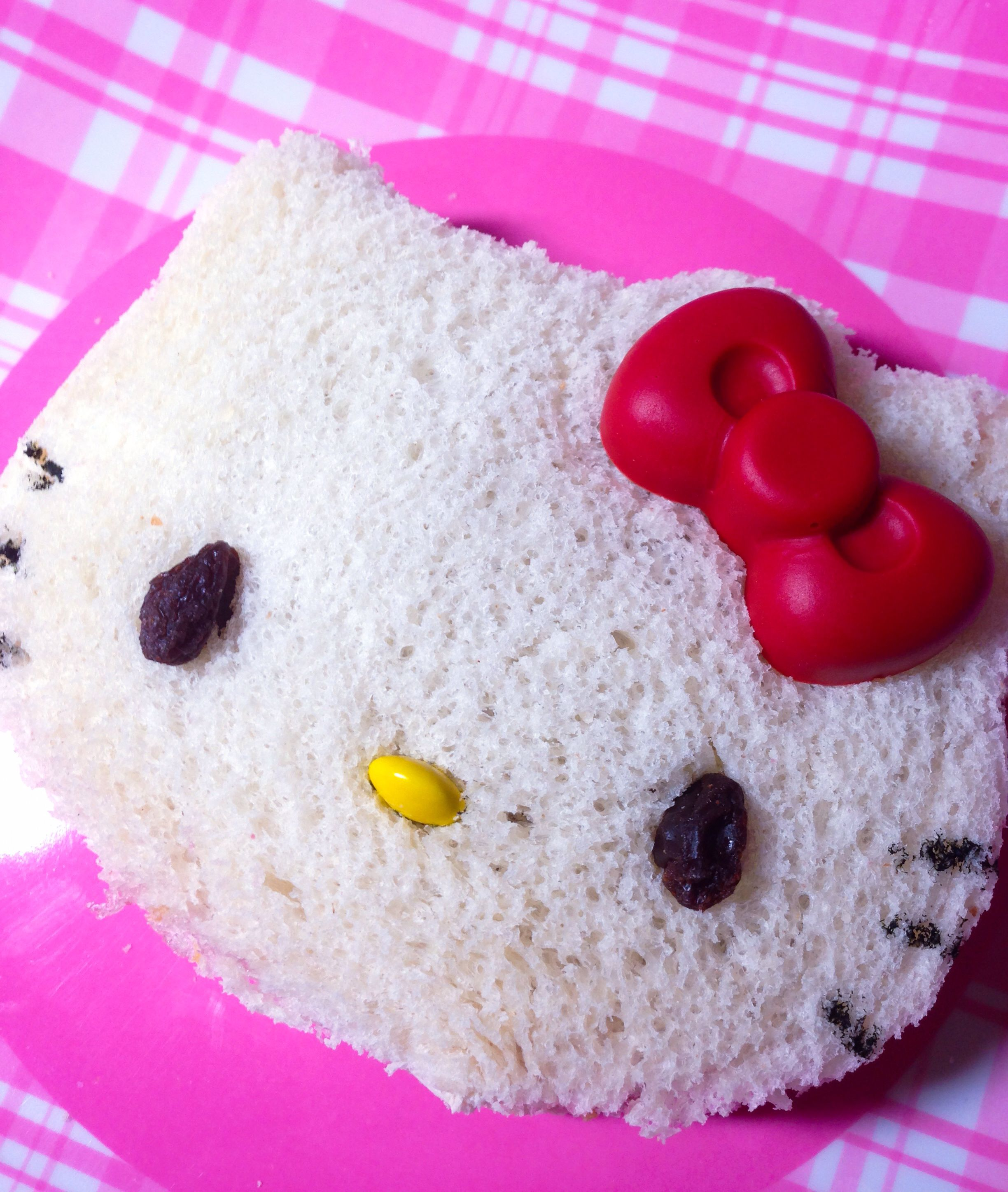 Made this Hello Kitty Sandwich :)