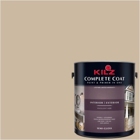 Kilz Complete Coat Interior/Exterior Paint & Primer in One, #LK140 Ranch House